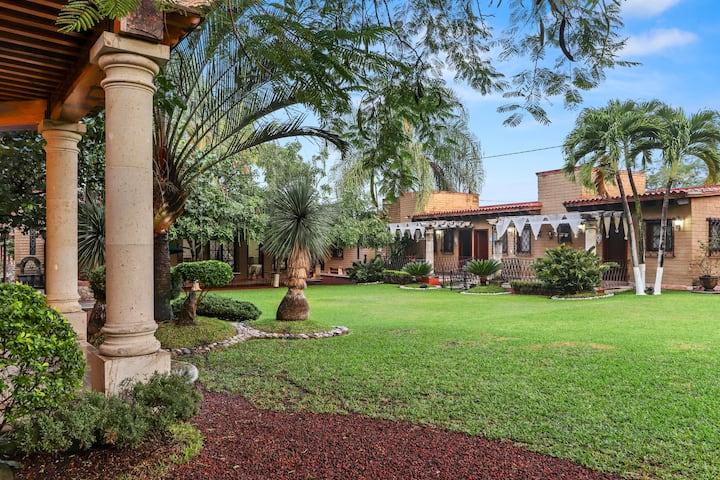 Hotel Finca Mi Refugio en Chiconcuac, Morelos