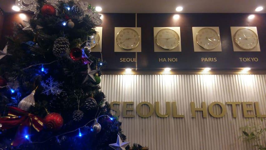 Seoul hotel Doi Can 5 min to Lotte Mart room 201