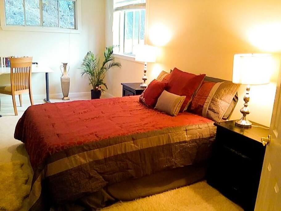 Beautiful Queen Bed