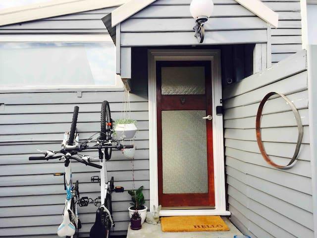 Studio You Me - on Hobart's intercity bike track