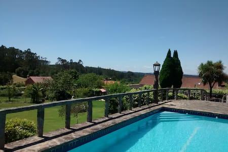Casa bonita, tranquila y acogedora a 12km Santiago - O Pino