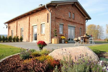 Luxus Ferienhaus- Hund, Sauna, Meerblick, 6 Pers - Stahlbrode