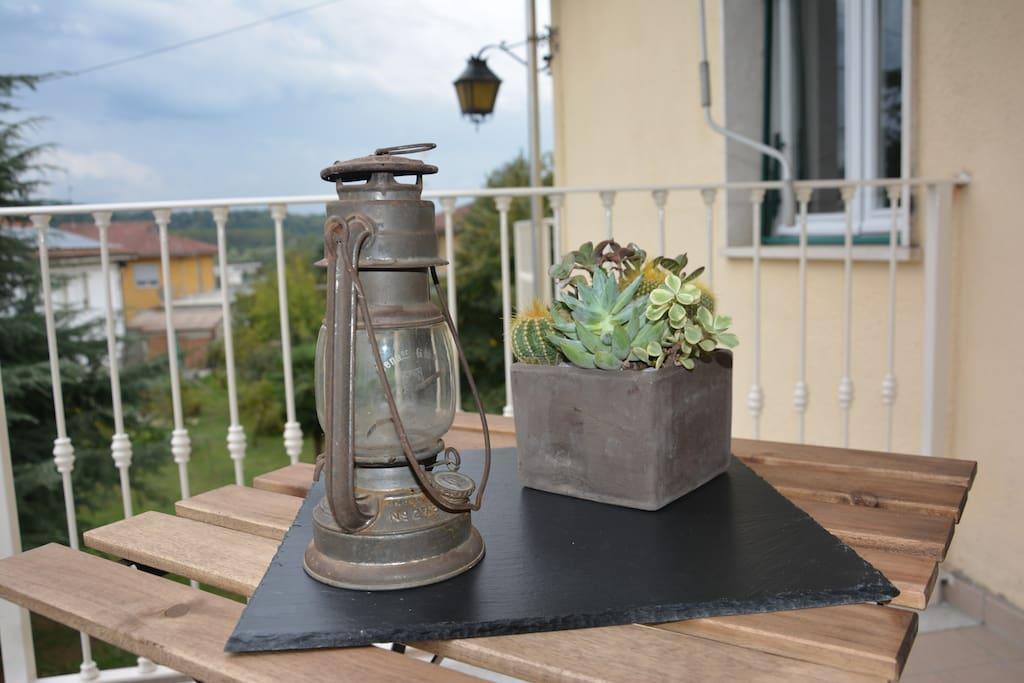 balcone - particolare