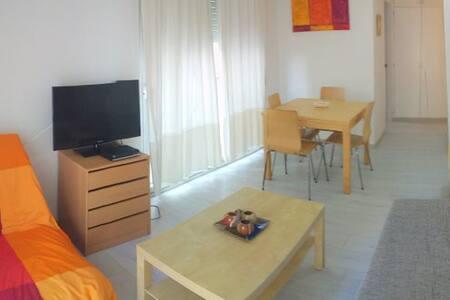 EM2- ESTUDIO A 50 MTS DE LA PLAYA EN EL CENTRO - Roses - 公寓