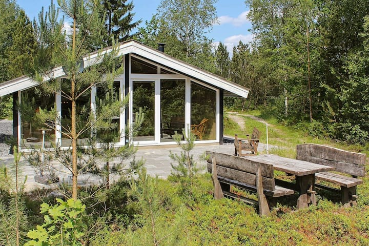 Cozy Holiday Home in Herning with Barbecue