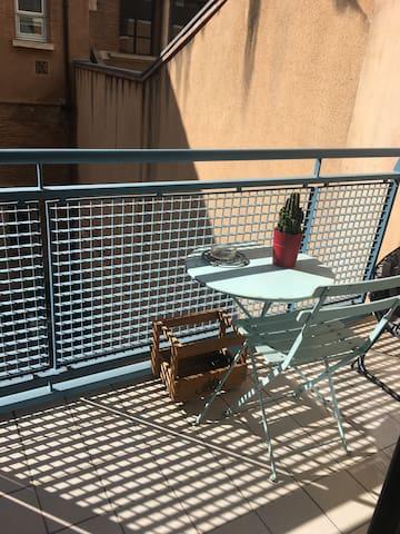Appartement Hyper centre avec Balcon