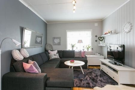 A warm and beautiful 2 bedroom apartment (76 sqm) - Skien - Wohnung