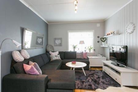 A warm and beautiful 2 bedroom apartment (76 sqft) - Skien - Apartmen