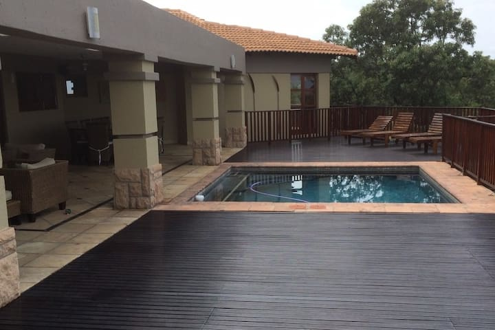 A place to relax in the heart of the bushveld.