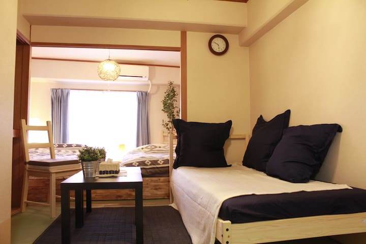 NAMBA near!Sakuragawa Station 8 min from house! - Osaka-shi - Huoneisto