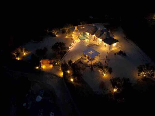 Panoramica notturna  panoramic night view
