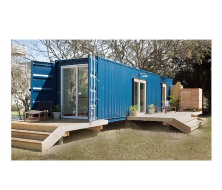 Modern Beach Container Home #1