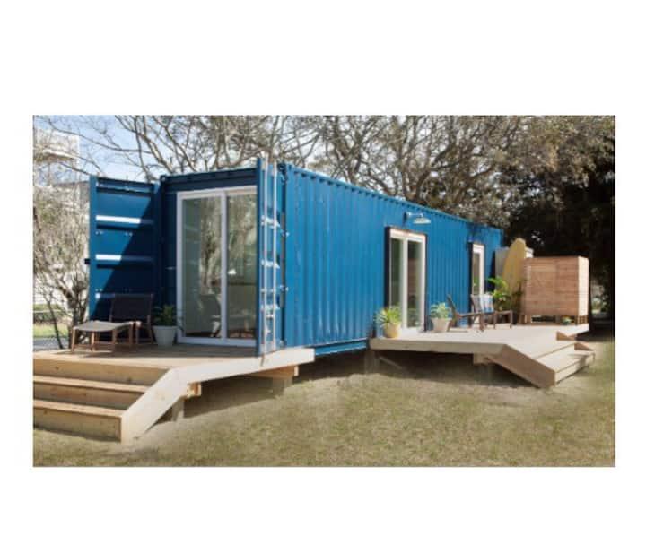 Modern Beach Container Home #1