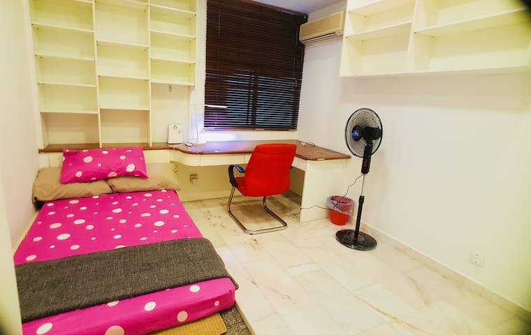 Private room, single bed @Bangsar
