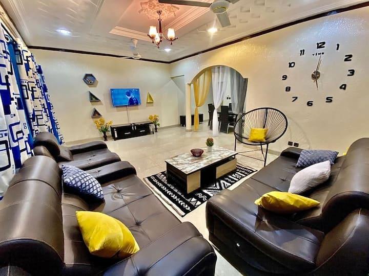 Une villa située à 15mn d'aéroport et accessible