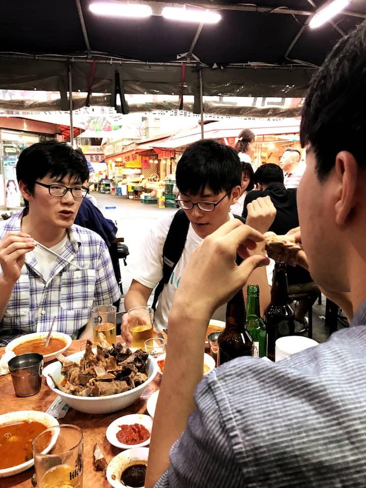 1) BEST Gamjatang (Pork Bone stew)