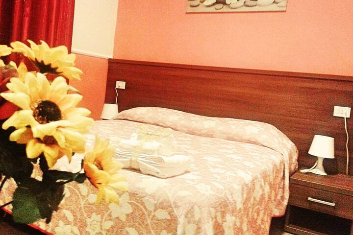 Small Double Room with private bathroom in Hotel
