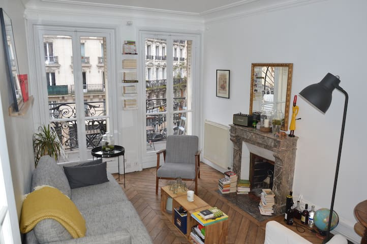 Romantic flat in Montmartre - Paris - Casa