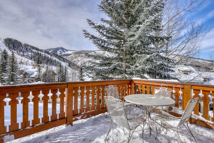 Gorgeous ski-in/ski-out home w/ a private hot tub, gas grill, & views - dogs OK!