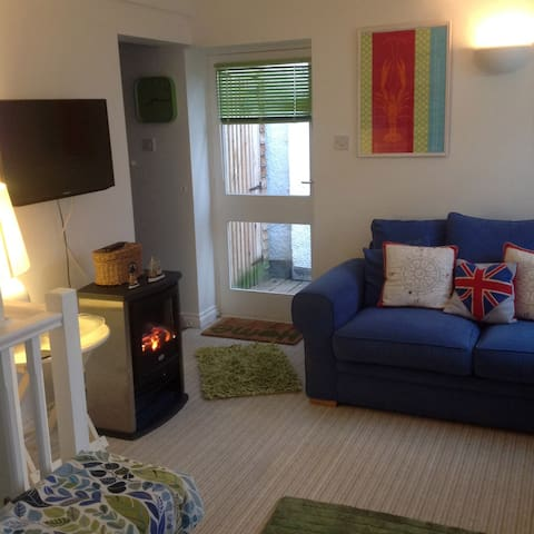 Luxury apartment in Fowey & parking - Fowey - Pis