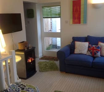 Luxury apartment in Fowey & parking - Fowey - Leilighet