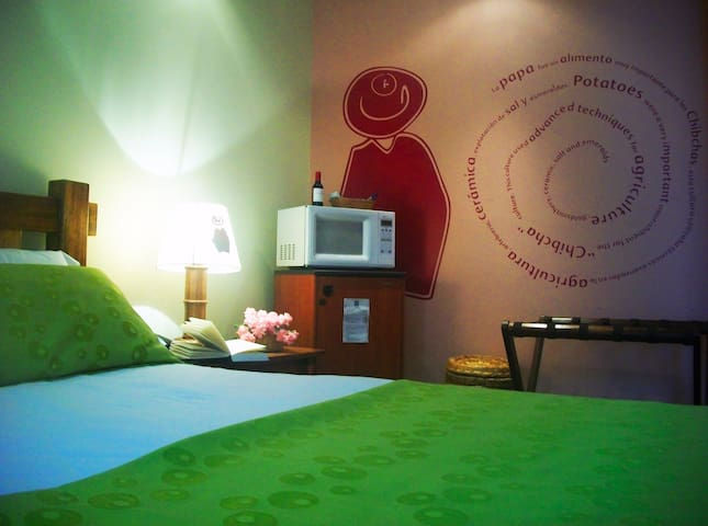 Cozzy bedroom + breakfast / Unicentro. PetFriendly