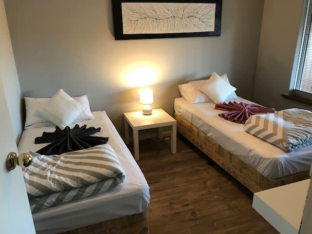 Third Bedroom (2 x Single Beds)