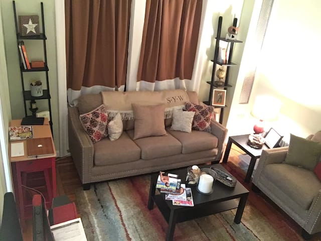 Private FULL Apt in Harlem/Hamilton Heights! - New York - Apartment