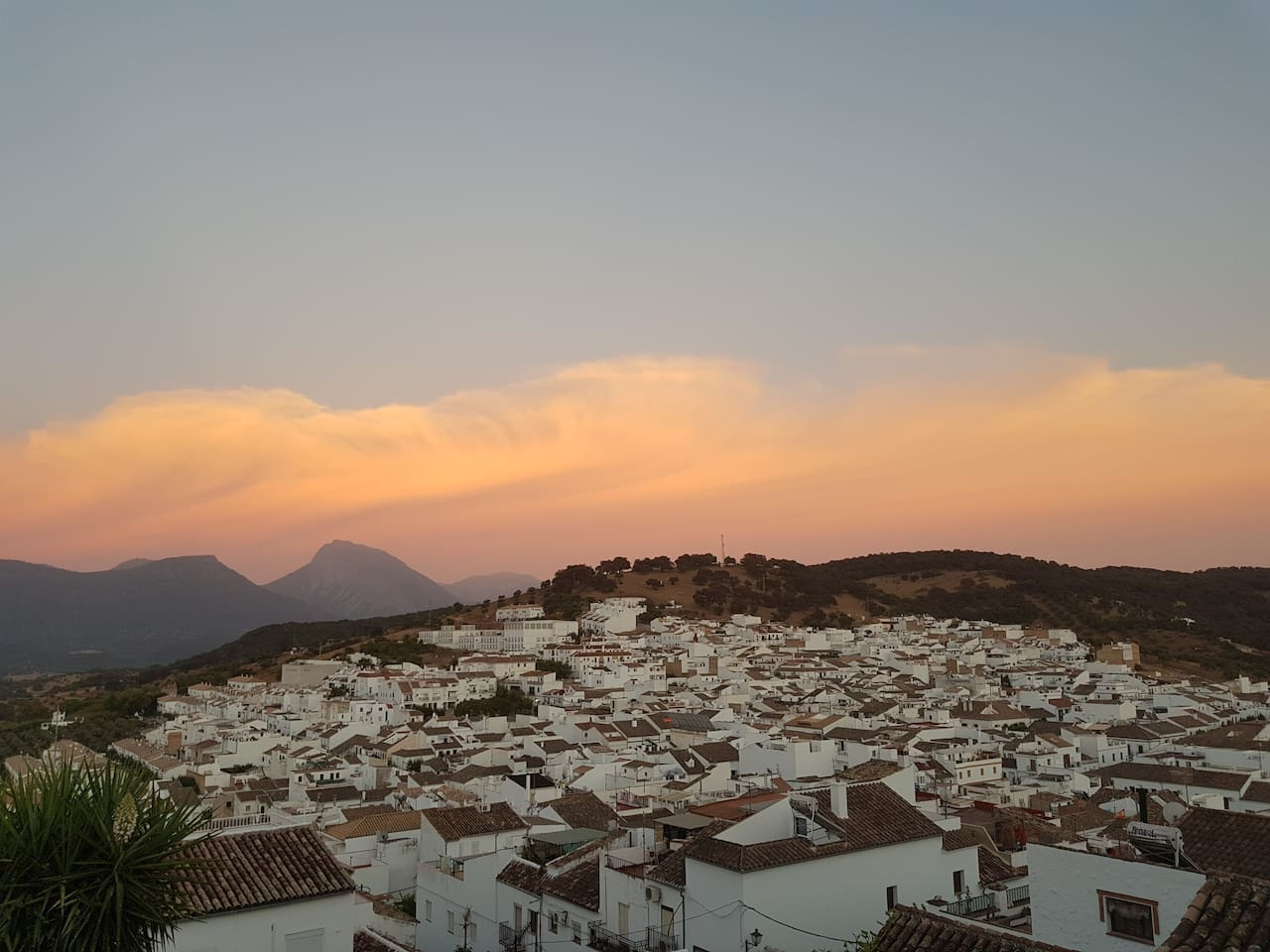 Disfrutarás de unas magníficas vistas desde todas las estancias de la casa (foto tomada desde la terraza orientada al este - Amanecer)