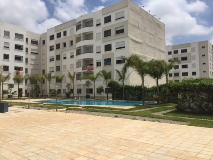 Apprt 100m² plein sud 2Cac 2 SdB jardin piscine