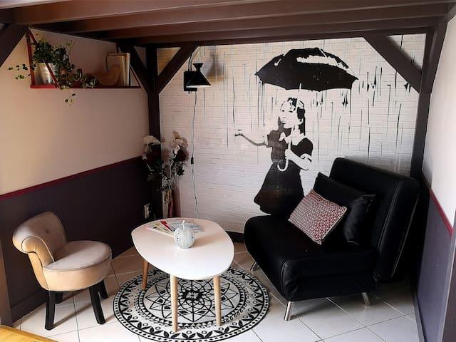 Orvault/Nantes nord, Les Caudalies, studio neuf