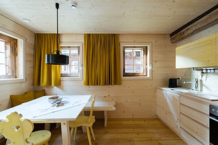 House Giatla, Apartment Alfen, in Tyrol, Austria - Innervillgraten
