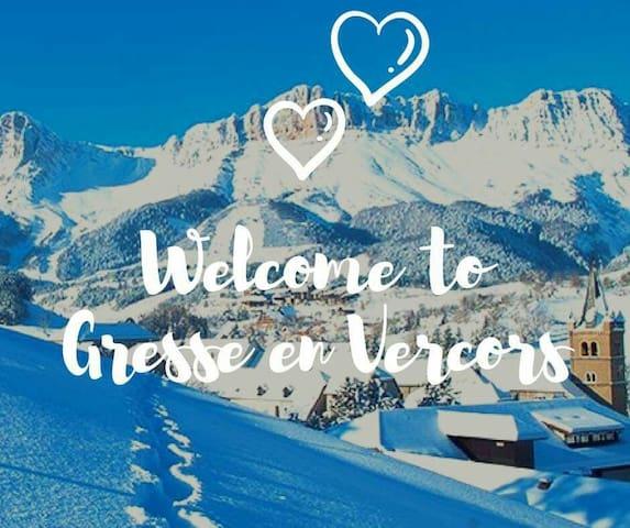Green chaud dans le Trieves / Vercors (Alpes)
