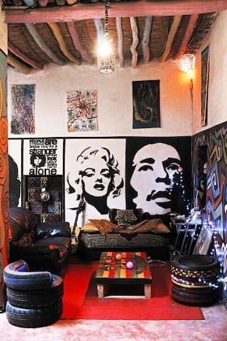 Shared room in Traditional Artistic African House - Ouarzazate - Huis