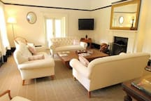 Open fires and comfy lounges in the main house for you to enjoy.
