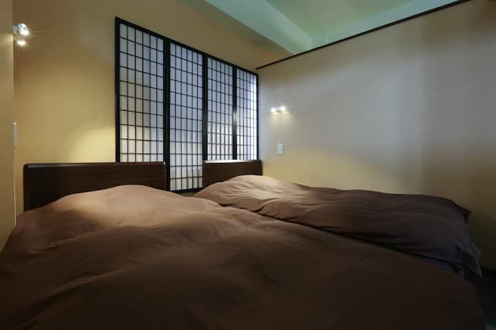 上野・浅草 四楼 整套舒适公寓,三间卧室,免费WIFI♪