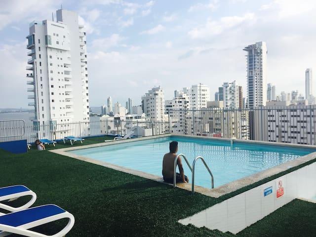 Great Apartment in BocaGrande - Cartagena - Apartment