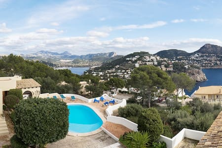 VILLA ANCORA - AMAZING VIEWS at LA MOLA - Andratx