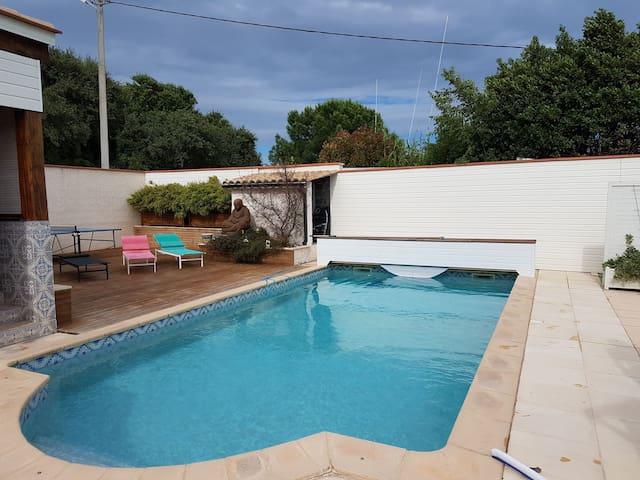 Superbe Studio avec piscine proche de la mer
