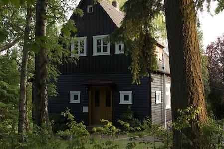 Gemütliches Holzhaus im englischen Stil - Uslar