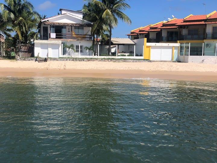 Bela casa na Gamboa d Morro de São Paulo beira mar