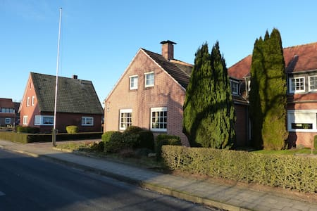 3 Zimmer Maisonette in Kanallage - Papenburg - Apartment