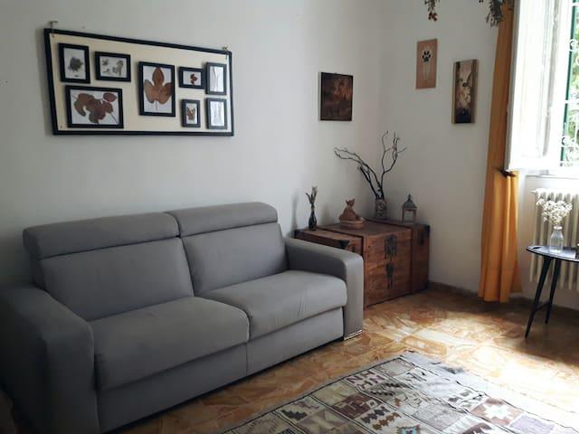 Stanza con giardino, Quercianella - uso cucina