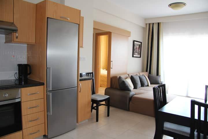 (23-1)Апартаменты с одной спальней и видом на море