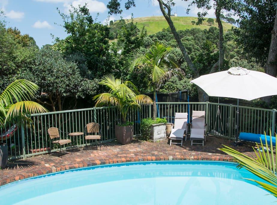 Take a dip! Pool open Nov - April