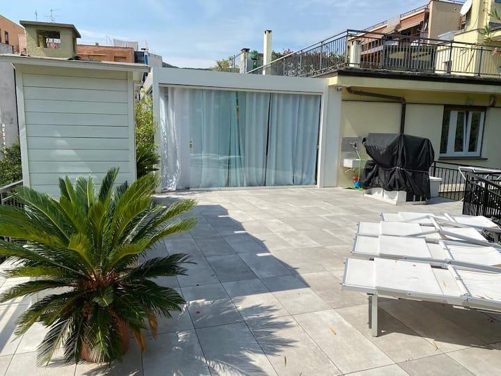 Magnifique appartement avec grand terrasse