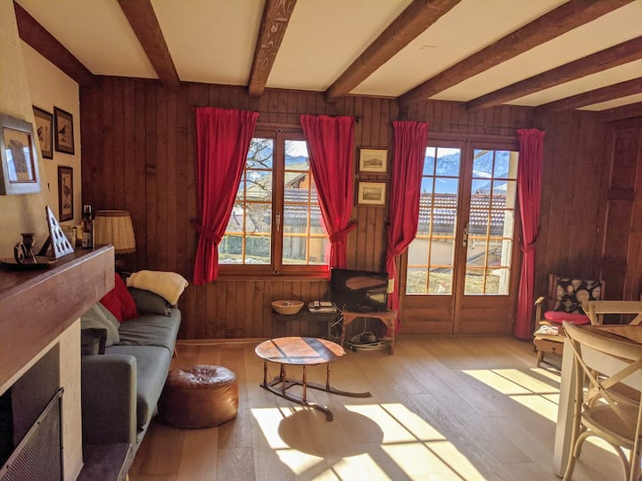 Lovely flat 20 min from Gstaad
