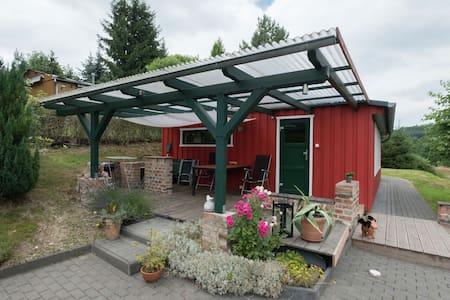 Charmante maison de vacances à Güntersberge près de la forêt