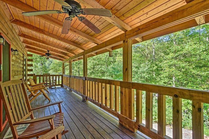 NEW! Andrews Cabin in Nantahala National Forest!
