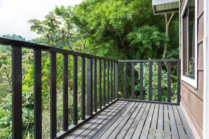 Cabañas privadas y naturales